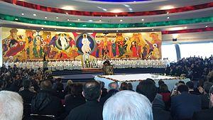 Neocatechumenal Way - A Neocatechumenal Eucharist in Porto San Giorgio, Italy.