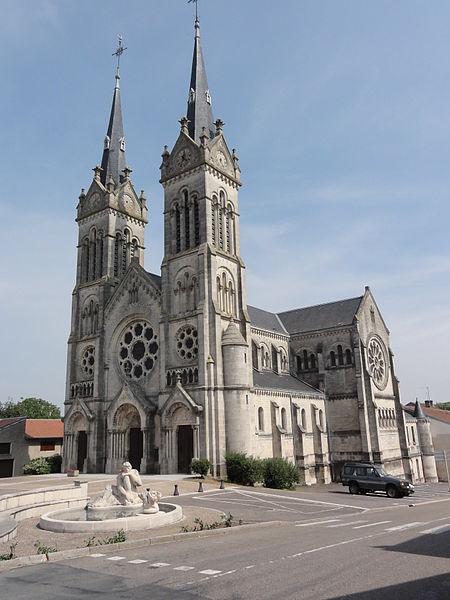 Euiville (MeuseÉglise Saint-Pierre-et-Saint-Paul