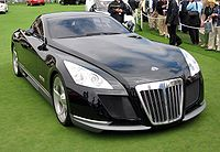 Maybach Exelero at the Concours d'Elegance