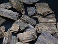 Excrescència de la fusta en el tronc d'un arbre, segle XIII aC, muntanya de sal de Hallstatt.JPG