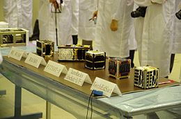 F-1 and other CubeSats at TKSC.jpg
