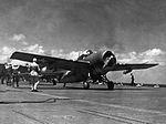 F4F-3 Wildcat of VF-41 on USS Ranger (CV-4) in 1942 (NNAM.1996.253.7386.007).jpg