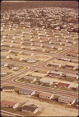 South Miami Heights in 1972