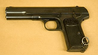 FN Model 1903 - A FN Model 1903 from the collections of the Swedish Army Museum.
