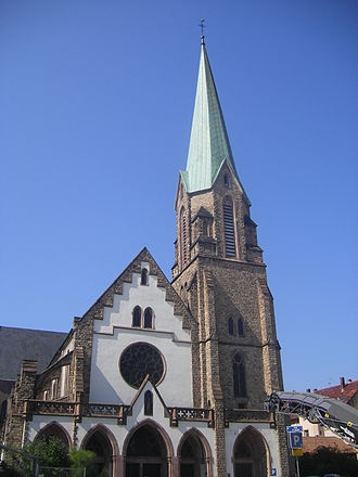Bischheim, Bas-Rhin - Image: FR 67 Bischheim