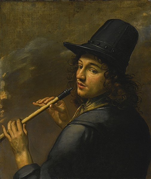 File:FRENCH SCHOOL, 17TH CENTURY YOUNG MAN PLAYING A RECORDER.jpg