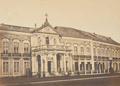 Façade of the Palace of Necessidades and its portico (c. 1850-1854).png
