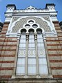 Facade of Sephardic Synagogue - Sofia - Bulgaria (41067855180).jpg