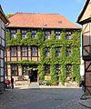 Fachwerkhaus in Altstadt Qudlinburg. IMG 2024WI.jpg