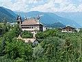Fahlburg, Prissian, Jakobsweg zwischen Meran und Bozen, Trentino, Südtirol, Italien - panoramio.jpg