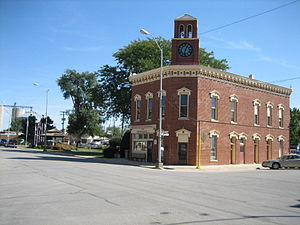 Fairbury, Illinois - Fairbury City Hall is listed on the U.S. National Register of Historic Places.