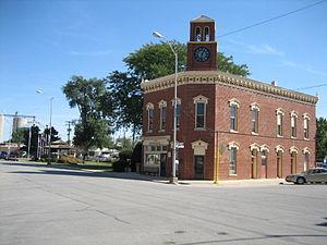 Fairbury, Illinois - Fairbury City Hall is listed on the U.S. National Register of Historic Places.