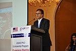 Faizullah Jan (PhD Scholar) sharing his experience at the event (16651739532).jpg