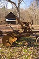 Farm implements at West Point Mill - panoramio.jpg