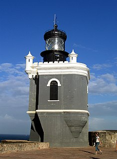 First lighthouse built in Puerto Rico