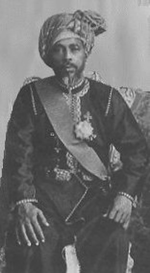 Faisal bin Turki, Sultan of Muscat and Oman - Image: Faysal bin Turki
