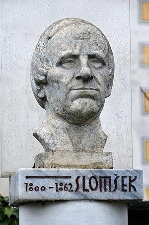 Anton Martin Slomšek - Bust.