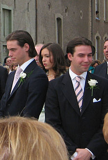 Pangeran Félix, Princess Alexandra, dan Hereditary Grand Duke Guillaume