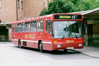 Alexander Strider - Alexander Strider bodied Volvo B10B in Derby Bus station.