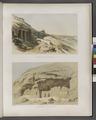 Felsengrab von Benihassan (Banî .Hasan Site); Felsendenkmal von Gebel Tûneh (Tûnat al-Jabal Site) (NYPL b14291191-37564).tiff