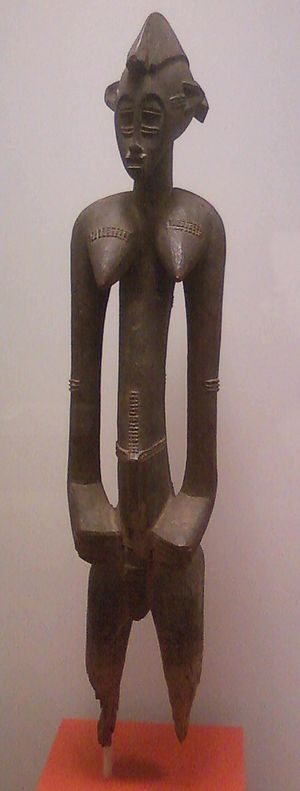 Senufo female ancestor figure (Indianapolis Museum of Art) - Image: Female ancestor figure by Senufo people