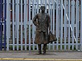 Female statue, Brixton railway station in March 2011 01.jpg