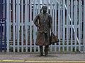 Female statue, Brixton railway station in March 2011 01.jpg