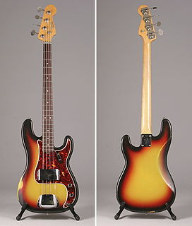 Fender Precision Bass Iconic guitar brand