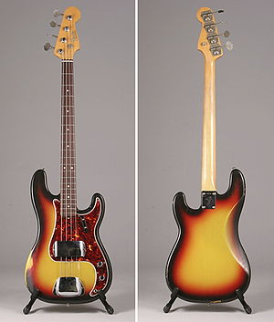 Fender Precision Bass - Image: Fender Precision Bass