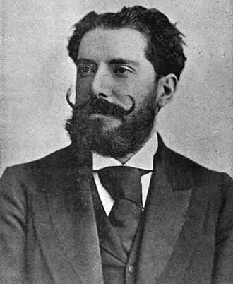 Enrique Fernández Arbós - Enrique Fernández Arbós (picture from ''The Strad'', November 1894)