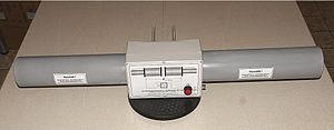 Non-directional beacon - Ferrite antenna for non-directional beacon (NDB), frequency range 255–526.5 kHz