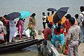 Ferry Service Across River Matla - Godkhali Ghat - South 24 Parganas 2016-07-10 5007.JPG