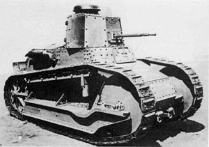 Tanks in the Italian Army - Fiat 3000 tank, model 21