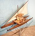 Fijian double canoe, model, Otago Museum, 2016-01-29.jpg