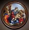 Filippino lippi, sacra famiglia coi ss. giovanni battista e margherita, 1495 ca. 01.jpg