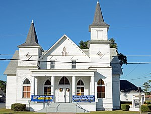 First African Baptist Church and Parsonage (Waycross, Georgia) - Image: First African Baptist Church, front, Waycross, GA, US