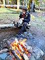 First Burn -Titanium Goat WiFi Stove (13521981574).jpg
