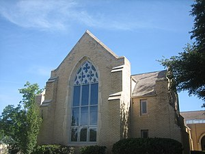 Pearsall, Texas - Image: First United Methodist Church of Pearsall, TX IMG 0486