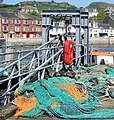 Fishing Nets Millport Pier - geograph.org.uk - 434184.jpg