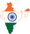 Flag map of India actual control.png