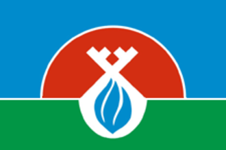 Nadymsky District - Image: Flag of Nadymsky rayon (Yamalo Nenetsky AO)