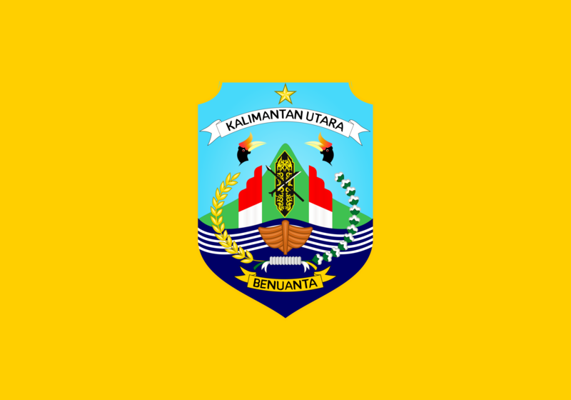 ファイル:Flag of North Kalimantan.png