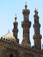 Flickr - HuTect ShOts - Minarets of Al.Masjid Al.Azhar مآذن الجامع الأزهر - Cairo - Egypt - 29 05 2010 (1)