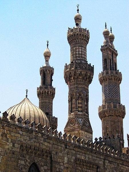 Flickr - HuTect ShOts - Minarets of Al.Masjid Al.Azhar مآذن الجامع الأزهر - Cairo - Egypt - 29 05 2010 (1).jpg
