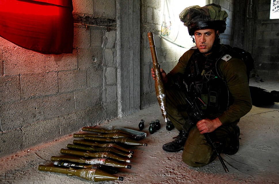 Flickr - Israel Defense Forces - Weapons Found in a Mosque