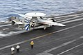 Flickr - Official U.S. Navy Imagery - A Hawkeye launches from the USS Dwight D. Eisenhower..jpg