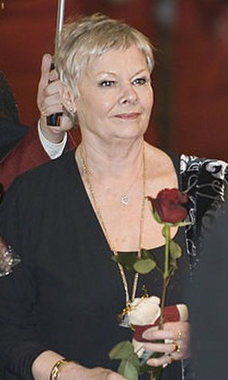 Judi Dench - Dench at the premiere of Notes on a Scandal in Berlin in 2007