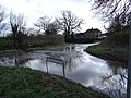 Flood at Crossroads, Church Road, Aslacton - geograph.org.uk - 352109.jpg