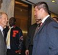 Florida Gators football team meets with Bill Nelson 2009-04-23.jpg