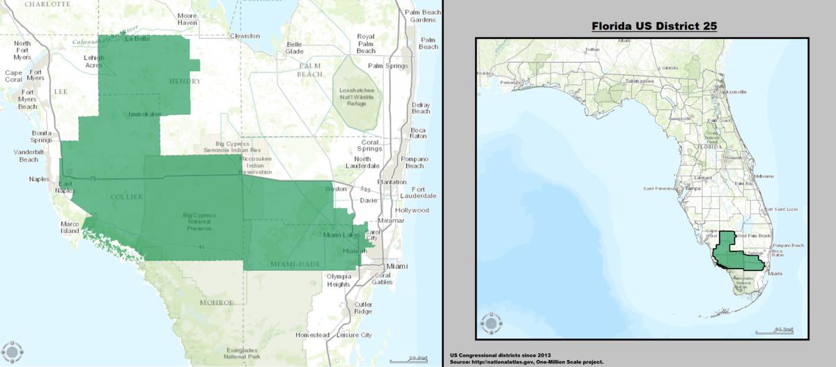 Florida S 25th Congressional District Wikipedia